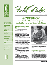 Field Notes: Spring 2013