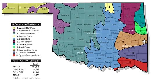 Oklahoma Ecoregions Submited Images