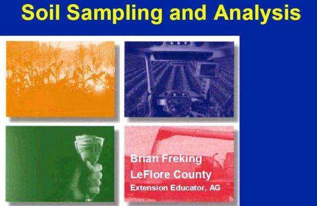 Soil Sampling and Analysis
