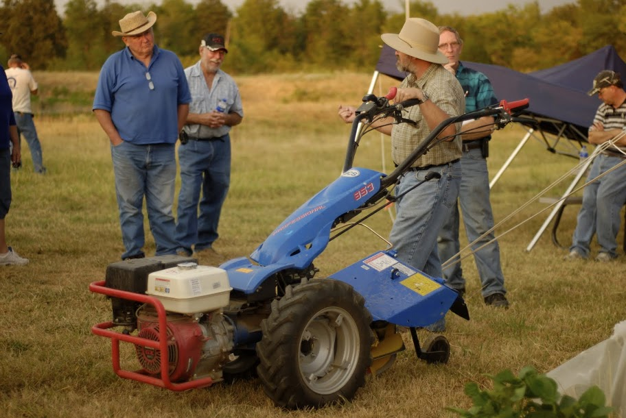 Bcs Garden Tractors : Bcs walk behind tractor kerr center