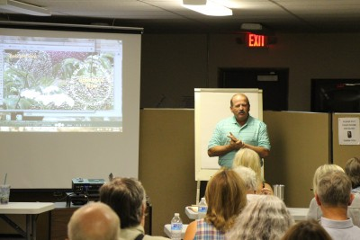 Arkansas elderberry grower Bob McCord describes his experiences with the crop at the September 2015 elderberry workshop.