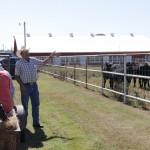 Will Lathrop explains the Kerr Center's approach to grazing management during an October 2015 workshop.
