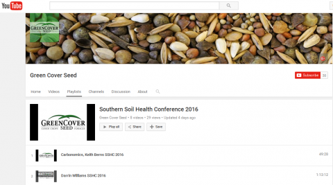 Southern Soil Health Conference Videos