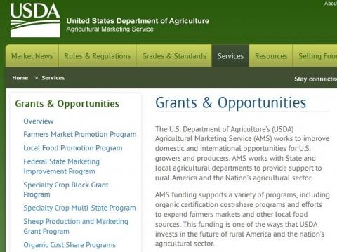 Webinar: USDA-AMS Farmers Market and Local Food Promotion Program ...