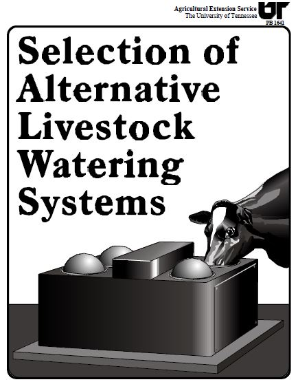 Alternative Livestock Watering Systems