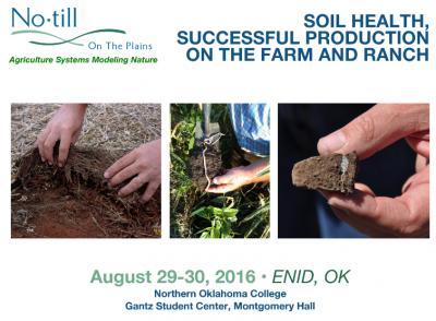 Kansas Oklahoma Soil Health Workshop: Bus Tour & Classroom @ Northern Oklahoma College | Enid | Oklahoma | United States