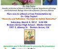 Free Monarch Presentation March 4 in Broken Arrow