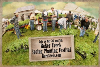 Baker Creek Heirloom Seeds Spring Planting Festival @ Mansfield, MO | Mansfield | Missouri | United States