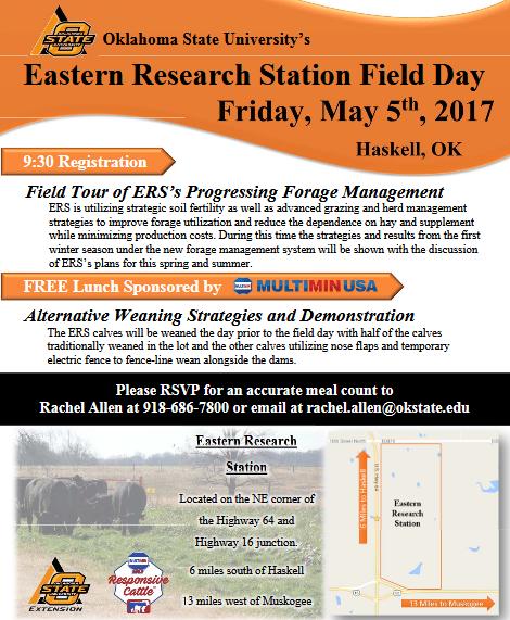 OSU Eastern Research Station Field Day