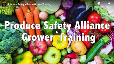 Produce Safety Alliance Grower Training Course @ Sulphur (Murray County Extension Office) | Pawnee | Oklahoma | United States