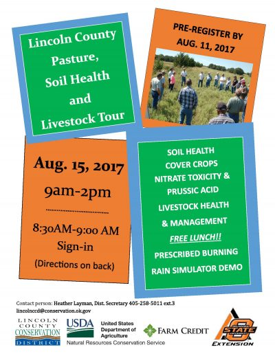Registration Deadline: Lincoln County Pasture, Soil Health and Livestock Tour