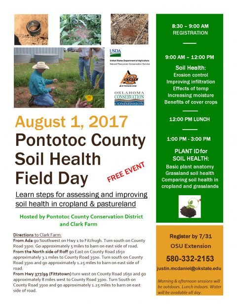 Pontotoc County Soil Health Field Day