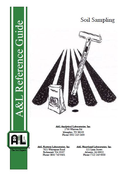 A&L Reference Guide: Soil Sampling
