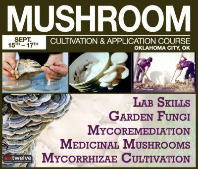 Course: Mushroom Cultivation & Application @ Oklahoma City (SixTwelve) | Oklahoma City | Oklahoma | United States