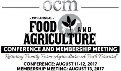 OCM Food & Agriculture Conference @ Kansas City, MO | Kansas City | Missouri | United States