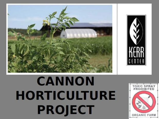 Horticulture Main Demonstration Plot Scheme