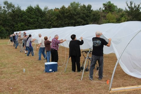 Choctaw Hoop House Workshop Recap – and Updated Plans!