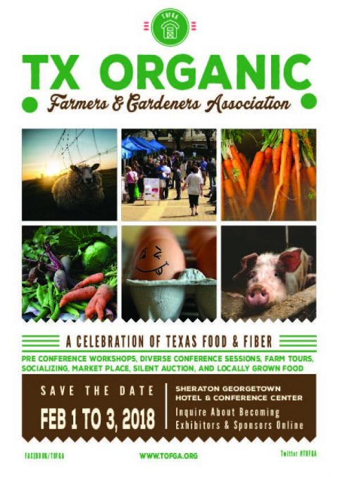 Texas Organic Farmers & Gardeners Association Annual Conference