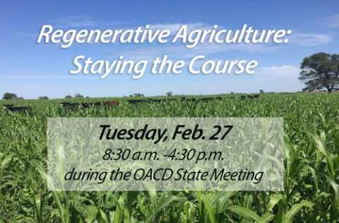 Regenerative Agriculture: Staying the Course