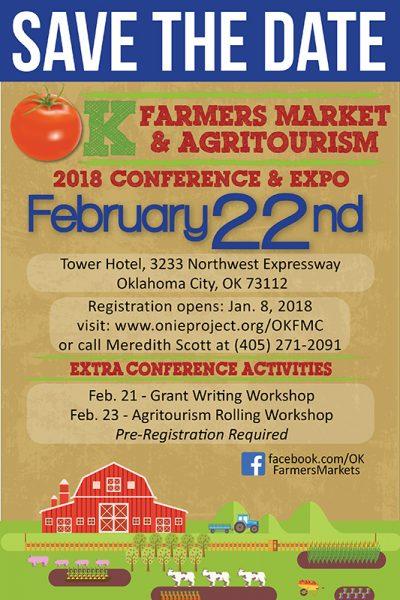 Oklahoma Farmers Market & Agritourism Conference @ Oklahoma City   Oklahoma City   Oklahoma   United States