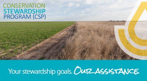 Deadline: 2018 Conservation Stewardship Program Enrollment
