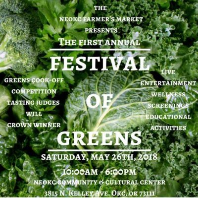 NE OKC Farmers Market Festival of Greens @ Oklahoma City
