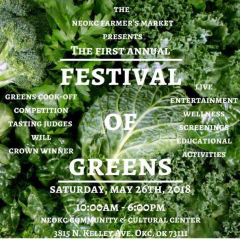 NE OKC Farmers Market Festival of Greens