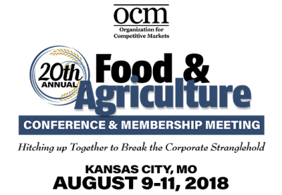 OCM Food & Agriculture Conference @ Kansas City, MO (Marriott Kansas City Airport)