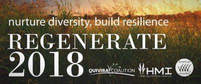 HMI Regenerate 2018 Conference @ Albuquerque, NM