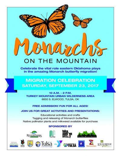 Monarchs On The Mountain @ Tulsa ( Turkey Mountain Urban Wilderness Area)