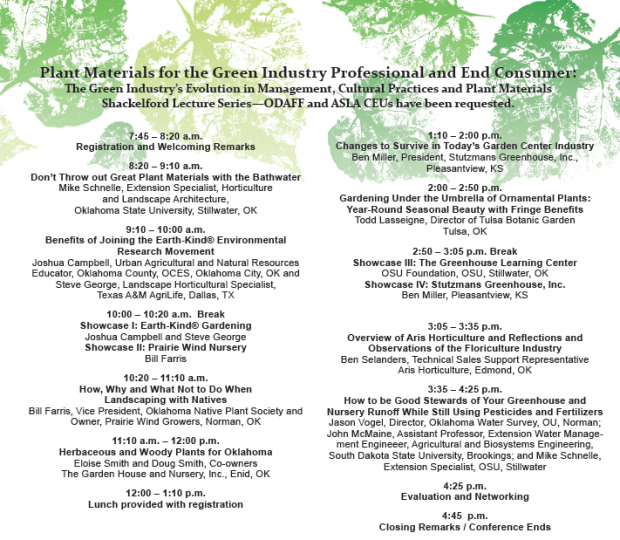 Conference: Plant Materials