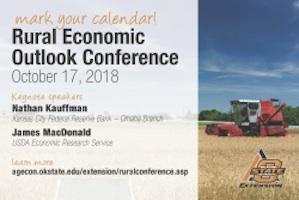 Rural Economic Outlook Conference @ Stillwater (Conoco Phillips OSU Alumni Center)