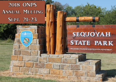 Oklahoma Native Plant Society Annual Meeting @ Sequoyah State Park