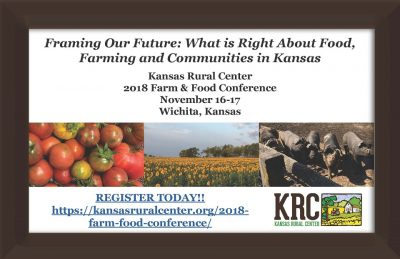 Kansas Rural Center Farm and Food Conference @ Wichita, KS (Hotel at Old Town Conference Center)
