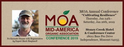 Conference: Mid-America Organic Association 2019 @ Independence, MO (Stoney Creek Hotel & Conference Center)