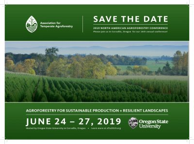 North American Agroforestry Conference @ Corvallis, OR (Oregon State University)