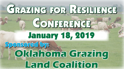 Conference: Grazing for Resilience @ Norman (Moore Norman Technology Center)