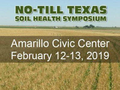 No-Till Texas Soil Health Symposium @ Amarillo, TX (Amarillo Civic Center Complex)