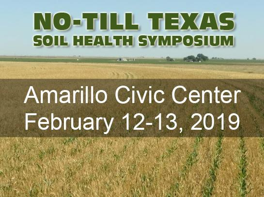 No-Till Texas Soil Health Symposium