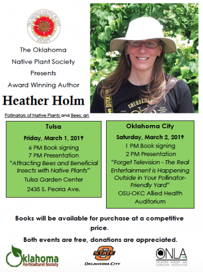 Attracting Bees and Beneficial Insects with Native Plants @ Tulsa (Tulsa Garden Center)