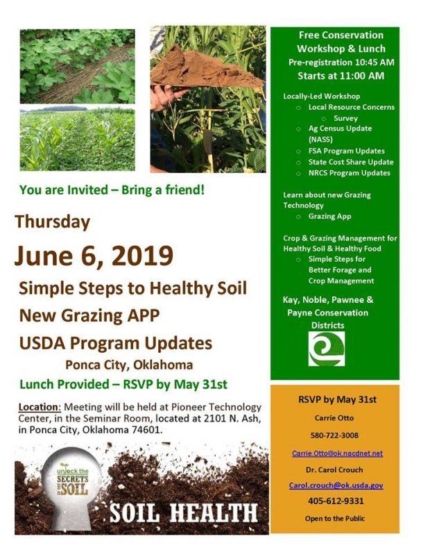 POSTPONED: Workshop: Simple Steps to Healthy Soil