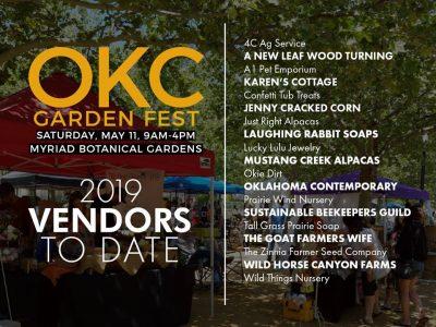 OKC Garden Fest @ Oklahoma City (Myriad Botanical Gardens)