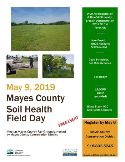 Mayes County Soil Health Field Day @ Pryor (Mayes County Fair Grounds)