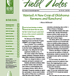 Field Notes: Fall 2013