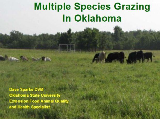 Multiple Species Grazing in Oklahoma