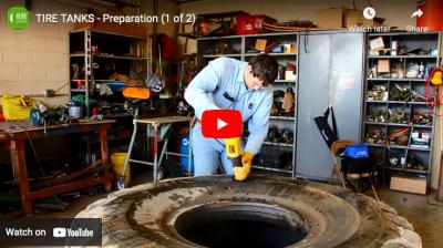 tire tanks preparation
