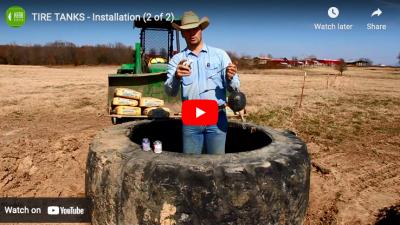 tire tanks installation