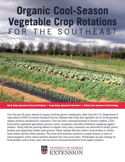 President's Note: Cool-Season Vegetable Crops
