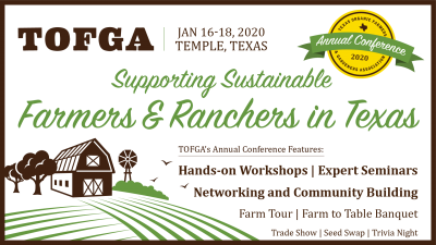 TOFGA 2020 Conference @ Temple, TX (Frank W. Mayborn Civic and Convention Center)