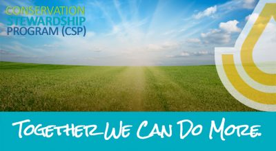 Deadline: 2020 Conservation Stewardship Program (CSP) Signup
